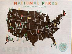 National Parks Explorers Guide... ROADTRIP!