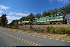 RailPictures.Net Photo: NS 8099 Norfolk Southern GE ES44AC at Stoneville, North Carolina by Trey Belton