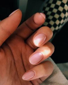 Nail Shapes - My Cool Nail Designs Cute Nails, Pretty Nails, Hair And Nails, My Nails, Pink Nails, Sparkle Nails, Nail Polish, Neutral Nails, Nagel Gel