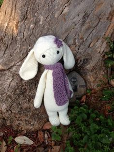 RITA the rabbit made by Michelle S. T. / crochet pattern by lalylala