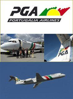 Création du logo de la compagnie aérienne Portugalia Airlines (Lisbonne)