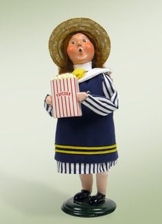 """""""Girl with Popcorn"""" a member of one of our Specialty Families."""