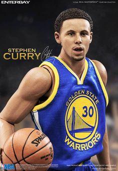 6a1b716aa095  transformer ENTERBAY NBA Series - Stephen Curry wax figure Nba Golden  State Warriors