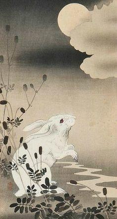 Hiroshige  Rabbit  Early 20th century