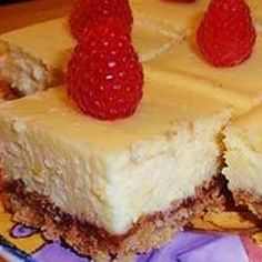Lemon Cheesecake Squares, photo by naples34102
