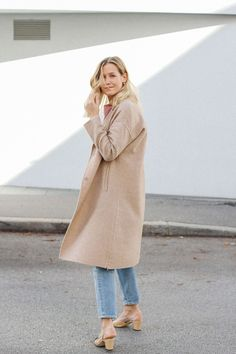tifmys – Blouse and coat: Zara | Jeans: H&M | Slingback pumps: Chanel