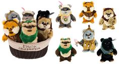 Collection of Ewok Plush Coming to the Disney Parks Online Store