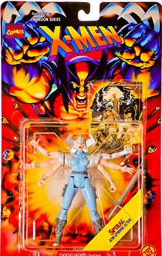1995 - Toy Biz / Marvel Comics - Invasion Series X-Men - Spiral Action Figure - w/ Arm-Spinning Acti @ niftywarehouse.com