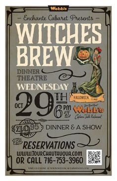 (10.29.2014) — A Halloween themed dinner theatre event at Webb's Captain's Table in Mayville, NY. Located minutes from Lake Erie Wine Country. #WebbsEvents