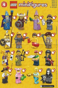 Lego Minifigures Series 8 Collection My Legos