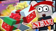 *UPDATE* GIFTED FESTIVE BEE, BEE BEAR, PRESENTS! | Roblox Bee Swarm Simulator Bee Swarm, Bee Bee, Festive, Xmas, Presents, Gifts, Honey Bee Swarm, Christmas, Navidad