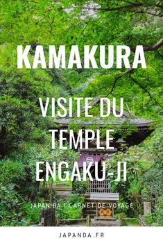 L'enceinte du temple Engaku-ji de Kamakura est située en pleine forêt, un cadre propice à une merveilleuse balade... #japon #kamakura