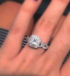 Princess Cut Rings, Princess Cut Diamonds, Dream Engagement Rings, Wedding Engagement, Wedding Bands, Solitaire Engagement, Infinity Ring Wedding, Infinity Band, Ring Verlobung