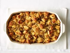 With the weather cooling down and Thanksgiving coming up, having a few delicious stuffing recipes on hand is definitely not a bad idea. While traditional stuffing uses breadcrumbs as a base ingredi. Thanksgiving Stuffing, Thanksgiving Feast, Thanksgiving Recipes, Holiday Recipes, Thanksgiving Dressing, Holiday Foods, Christmas Recipes, Fall Recipes, Vegetarian Thanksgiving