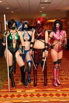 Sexy Mortal Kombat Cosplay Girls by Mayfirst2011, via Flickr