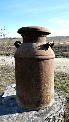 Antique Milk Can.I want one