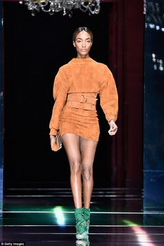 Not diverse enough: Black models such as 25-year-old Jourdan Dunn accounted for only 10.2% of runway bookings in NYC, London, Milan, & Paris Fashion Week! #BlackIsBeautiful