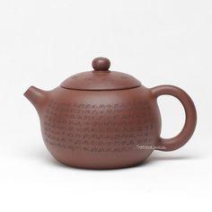 Hand-made Heart Sutra Xi Shi Yixing Teapot