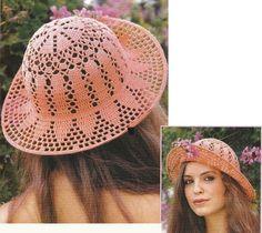 10 Maravillosos Patrones de Sombreros de Ganchillo
