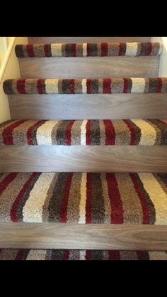 Love This Half Carpet Half Stairs Idea.