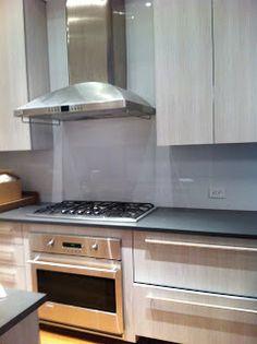 Tamara Stephenson Interior Design newly refurbished kitchen GE Monogram, Brizo products: