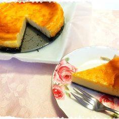 試作第1号!  まだまだ作る(`・ω・´) - 23件のもぐもぐ - ベイクドチーズケーキ by iamsayo