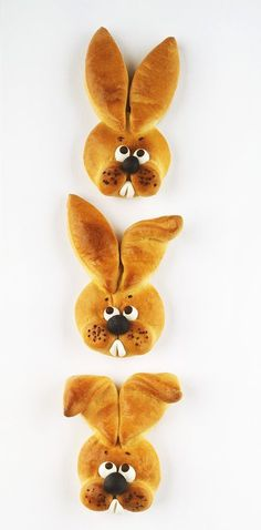 Yeast dough bunny- Hefeteig-Häschen Yeast dough bunny as an Easter surprise eatsmarter. Happy Easter, Easter Bunny, Easter Eggs, Bunny Bunny, Holiday Desserts, Holiday Recipes, Food Humor, Easter Recipes, Creative Food