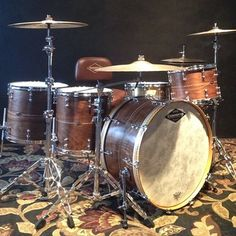 Craviotto Drums looks like a fun kit would like 2 try