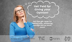 MyPoint is an online panel that serves the rewarding since It is only for US and Canada residents. This is an easy way to make money at home. Surveys For Money, Take Surveys, Make Money From Home, Way To Make Money, How To Get, Best Survey Sites, Pocket Money, Free Gift Cards, Knowledge