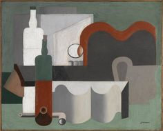 Le corbusier, still life, masterpieces from the centre pompidou: timeline Le Corbusier, Contemporary Interior, Modern Art, Centre Pompidou, North And South America, Expositions, Still Life Art, Illustrations And Posters, World Heritage Sites