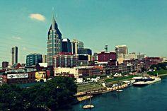 Nashville Skyline Art Print