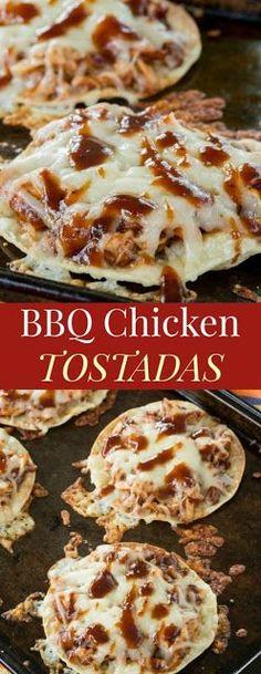 BBQ Chicken Tostadas | Special Cuisine Recipes