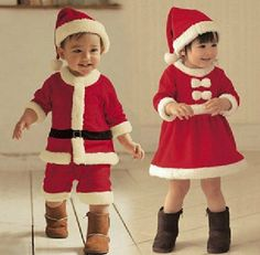 Santa Claus baby clothes, Christmas baby clothes,Christmas baby girl dress, Christmas baby boy overcoat,Christmas suit, children suit on Etsy, $16.99