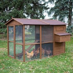 Boomer & George Large Poultry Palace Chicken Coop - Keep up to 9 chickens cozy, safe, and active in the Boomer & George Large Poultry Palace Chicken Coop . A deluxe chicken coop, this one features. Chicken Coop Kit, Portable Chicken Coop, Chicken Pen, Best Chicken Coop, Chicken Coop Designs, Backyard Chicken Coops, Building A Chicken Coop, Chickens Backyard, Farm Chicken