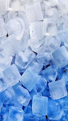 Image via We Heart It https://weheartit.com/entry/165201697/via/19174267 #background #blue #cold #cubes #ice #iphone #snow #wallpaper #wallpapers #white #backrounds