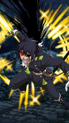 Owari no Seraph Bloody Blades - Yuichiro Hyakuya