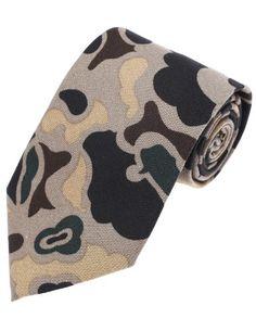 FLATSEVEN Mens Designer Cotton Military Camo Pattern Neck Tie (YA001) Beige FLATSEVEN http://www.amazon.com/dp/B00KRBNF2W/ref=cm_sw_r_pi_dp_jhnlub19PA0M6