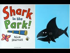 'Shark in the Park' - another great book by Nick Sharratt! 'Storytelling with Sherry' - and I hope the music is'nt too scary for the kids! Reading Resources, Teaching Reading, Book Activities, Free Reading, Online Stories, Books Online, Listen To Reading, Ocean Unit, Under The Sea Theme