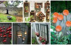 20 Fascinating Backyard Garden Fence Decoration Makeover DIY Ideas