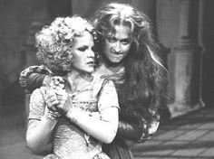 "Meryl Streep as Kate in ""Taming of the Shrew."""
