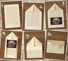 Gutscheinkarte verpacken - #Gutscheinkarte #verpacken #verpackung Origami Envelope, Diy Papier, Lettering, Birthday, Holiday Decor, Advent Calendar, Envelopes, Home Decor, Boxes