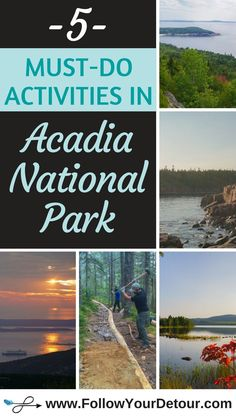 Acadia National Mark