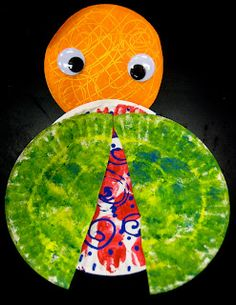 Experiments in Art Education: Kindergarten- Grouchy Ladybug, Eric Carle