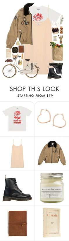 """it was joke, please don't go"" by helooksoperfc ❤ liked on Polyvore featuring Luis Miguel Howard, Raey, Paul & Joe, Dr. Martens, Brooklyn Candle Studio, Emili and LIST"