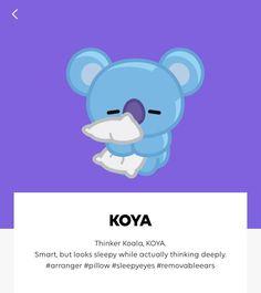 Character Profile of #KOYA #BT21