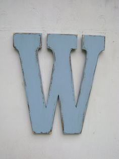Wood letter wall decor baby room wall hanging by UncleJohnsCabin, $57.00