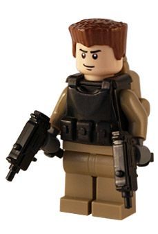 Task Force - Dualwield - Custom Lego Figure