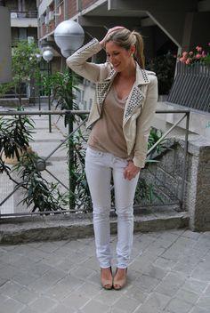 Look: Studded Jacket - thesunflowerscloset - Trendtation