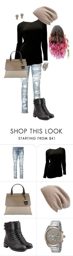"""""""Let's Bounce"""" by ccoss on Polyvore featuring rag & bone/JEAN, Chanel, DKNY, Halogen, Philosophy di Lorenzo Serafini, Nixon and FOSSIL"""