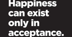 #Allow #Happiness #Acceptance